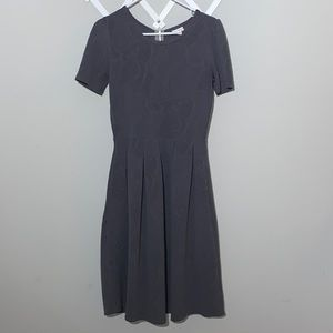 LulaRoe Gray Amelia dress